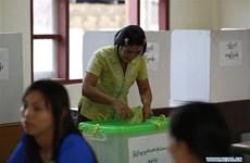 Myanmar celebra elecciones parlamentarias