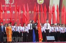 Presidenta de Parlamento asiste a aniversario 110 de escuela Chu Van An