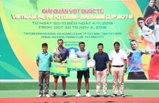 Raquistista ruso se proclamó campeón de torneo internacional de tenis en Vietnam