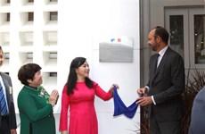 Premier Edouard Philippe inaugura Clínico Francés en Ciudad Ho Chi Minh