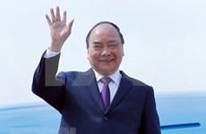 Premier vietnamita llega a Shanghái para asistir a Feria Internacional de Importaciones de China