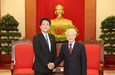 Vietnam atesora lazos con Japón, afirma su máximo dirigente
