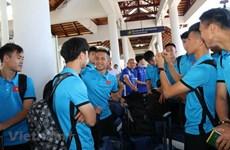 AFF Suzuki Cup: equipo nacional de Vietnam está listo para primer partido con Laos
