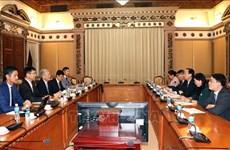 Mitsubishi quiere construir plantas de conversión de residuos en energía en Ciudad Ho Chi Minh