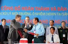 Completan desintoxicación de área contaminada por dioxina en aeropuerto vietnamita