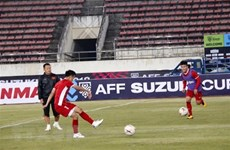Vietnam listo para el primer partido contra Laos en Copa AFF Suzuki Cup