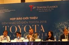 Concierto benéfico Toyota de música clásica se presentará en Ciudad Ho Chi Minh