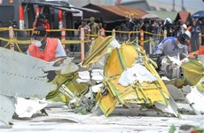 Indonesia concluye búsqueda de pasajeros del avión accidentado de Lion Air