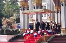Cuba y Laos reafirman determinación de agilizar cooperación bilateral