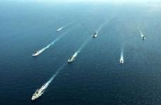 Armadas de la India y Singapur efectúan ejercicio militar a gran escala
