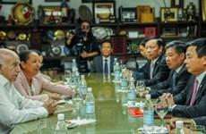 Recibe dirigente partidista cubano a delegación del Partido Comunista de Vietnam