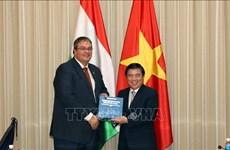 Ciudad Ho Chi Minh y Hungría promueven cooperación económica