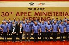 Canciller de Vietnam insta a economías de APEC a promover crecimiento sostenible