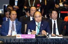 Premier de Vietnam asiste a XXI Cumbre ASEAN + 3