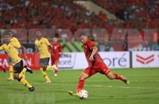 Fútbol: Amplio eco de prensa internacional de victoria aplastante de Vietnam sobre Malasia