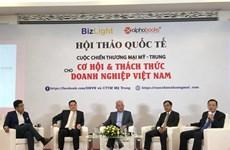Seminario sobre el control de importación y exportación para proteger a Vietnam ante guerra comercial EE.UU. - China
