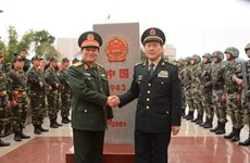 Vietnam y China fortalecen intercambios amistosos en defensa fronteriza