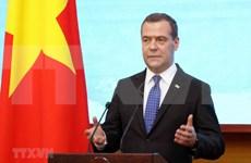 Primer ministro de Rusia concluye visita oficial a Vietnam