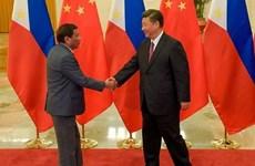 Presidente chino realiza visita oficial a Filipinas