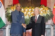 Vietnam y la India firman numerosos acuerdos de cooperación