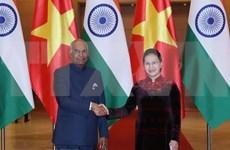 La India concede importancia a la asociación estratégica integral con Vietnam, afirma Presidente