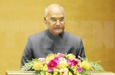 Destaca presidente de la India significado especial de las relaciones con Vietnam