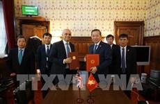 Vietnam y Reino Unido firman acuerdo contra la trata de personas
