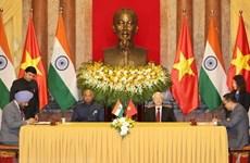 Vietnam y la India emiten declaración conjunta