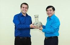 Agencias sindicales de Vietnam y Nueva Zelanda robustecen cooperación bilateral