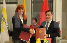 Vietnam firma varios acuerdos de cooperación con región Valona de Bélgica