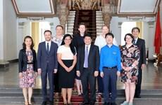 Ciudad Ho Chi Minh desea intensificar relaciones con Australia