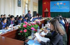 Intensifican la solidaridad entre organizaciones juveniles de Vietnam y Laos