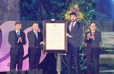 Geoparque vietnamita Non Nuoc Cao Bang recibe título de la Unesco