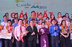 Celebran en Vietnam premiación de Programa Estudiantes Investigadores de la Ciencia Eureka 2018