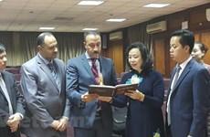 Hanoi busca fomentar cooperación con Egipto, Grecia y UAE
