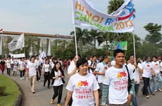Efectuarán en Hanoi carrera masiva para ayudar a enfermos infantiles