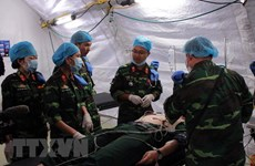 Inician en Vietnam curso de capacitación de cirugía para segundo hospital de campaña