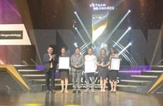 Honran a 12 empresas vietnamitas con Premio de Recursos Humanos