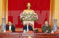 Resaltan logros del Comité del Partido en fuerzas de seguridad pública de Vietnam