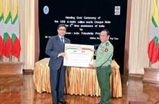 La India financia proyectos de desarrollo en frontera con Myanmar