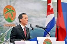 Inician construcción de parque industrial vietnamita en Zona de Desarollo Mariel en Cuba