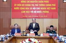 Premier de Vietnam insta a fortalecer salvaguardia de la Patria