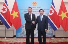 Vietnam y Corea del Norte robustecen nexos bilaterales