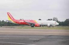 Avión de aerolínea vietnamita con problemas al aterrizar en aeropuerto de Buon Ma Thuot