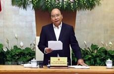 Premier vietnamita fija meta de crecimiento económico de 6,8 por ciento para 2019