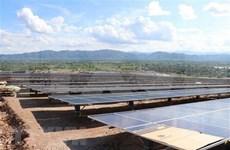 Planta de energía mega-solar se despliega en provincia vietnamita de Gia Lai