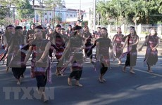 Clausuran Festival de Cultura de Gongs 2018 en Altiplanicie Occidental de Vietnam