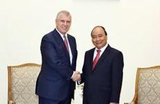 Premier de Vietnam reafirma lazos con Reino Unido