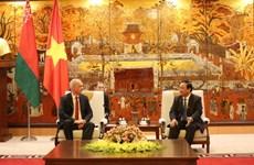 Hanoi y Minsk trabajan para firmar un pacto de cooperación para 2019 - 2020