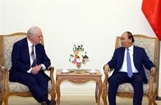 Premier de Vietnam recibe a profesor de Havard